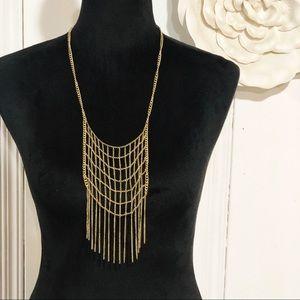Madewell • 1937 Fringe Bib Necklace